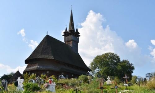 RUMUNIA / Maramuresz / Budesti / Cerkiew �w. Miko�aja