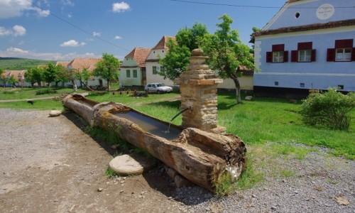 Zdjęcie RUMUNIA / Transylwania / Viscri / Poidło