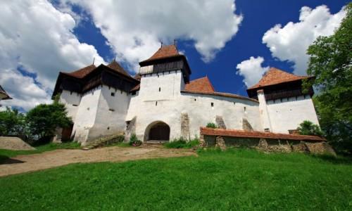 Zdjęcie RUMUNIA / Transylwania / Viscri / Kościół warowny