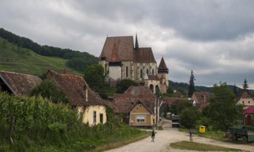 RUMUNIA / Transylwania / Biertan / Warowny kościół w Biertan