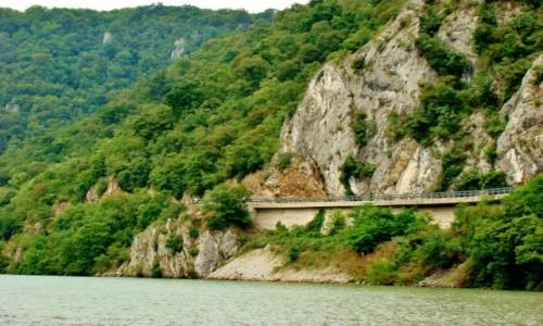 Zdjecie RUMUNIA / Mehedinti / Orsova,Dunaj / Przełom Dunaju-