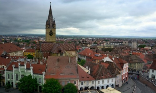 Zdjęcie RUMUNIA / Transylwania / Sybin / Sybin