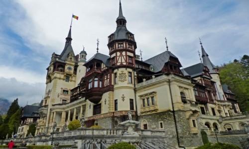 Zdjęcie RUMUNIA / Transylwania / Sinaia / Pałac Peleş