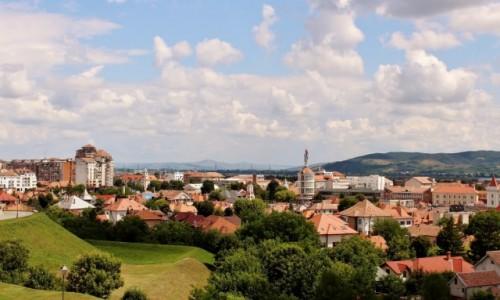 RUMUNIA / Siedmiogród / Alba Iulia / Alba Iulia-widok z twierdzy