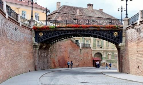 Zdjecie RUMUNIA / Siedmiogród / Sybin / Most Kłamców