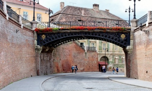 RUMUNIA / Siedmiogród / Sybin / Most Kłamców