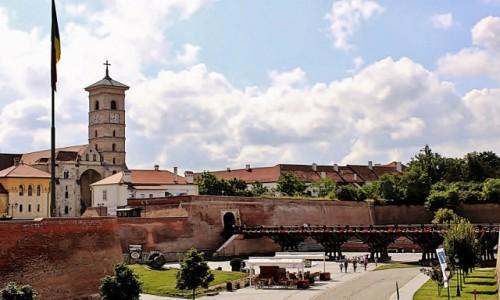 RUMUNIA / Siedmiogród / Alba Iulia / Twierdza Alba Carolina