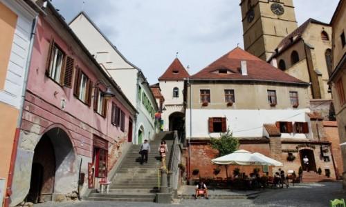 RUMUNIA / Siedmiogród / Sybin / Stare Miasto