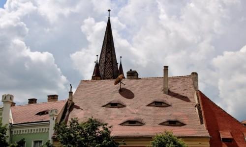 Zdjecie RUMUNIA / Siedmiogród / Sybin / Oczy miasta