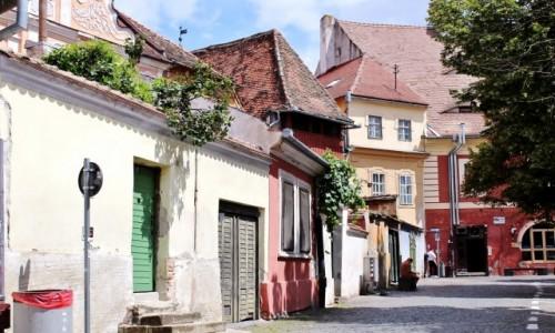 Zdjęcie RUMUNIA / Siedmiogród / Sybin / Uliczki Starego Miasta