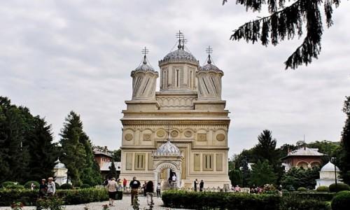 Zdjecie RUMUNIA / Wołoszczyzna / Curtea de Arges / Cerkiew metropolitarna
