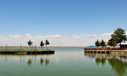 RUMUNIA / Dobrudża / Mamaia / Jezioro Siutghiol