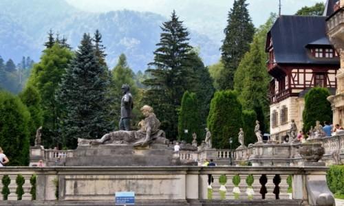 Zdjęcie RUMUNIA / Wołoszczyzna / Sinaia / Pałac Peleş