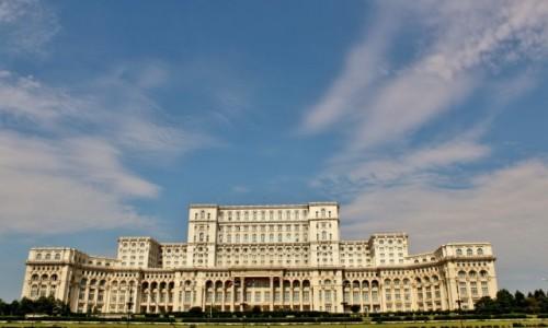 RUMUNIA / Wołoszczyzna / Bukareszt / Pałac Parlamentu