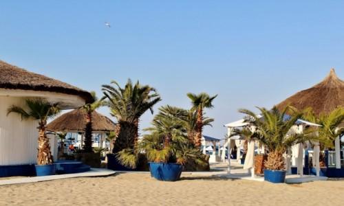 RUMUNIA / Wołoszczyzna / Mamaia / Plaża w Mamai