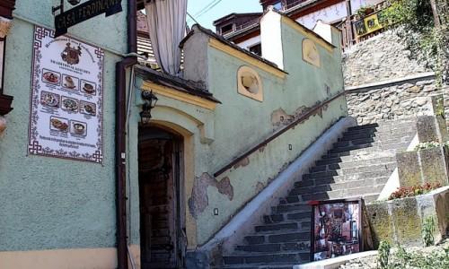 RUMUNIA / Siedmiogród / Szigiszoara / Stare Miasto