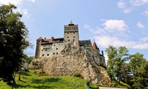 RUMUNIA / Siedmiogród / Bran / Zamek w Branie z XIV wieku