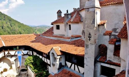 Zdjęcie RUMUNIA / Siedmiogród / Bran / Zamek w Branie z XIV wieku