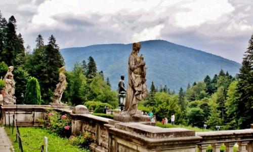 Zdjęcie RUMUNIA / Siedmiogród / Sinaia / Pałac Peleş
