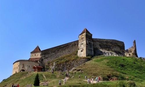 RUMUNIA / Siedmiogród / Rasnov / Na wzgórzu