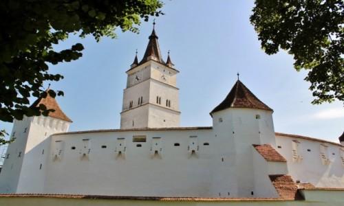 Zdjecie RUMUNIA / Siedmiogród / Harman / Kościół warowny z XIII wieku