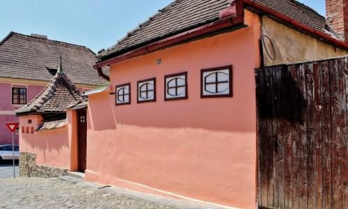 Zdjęcie RUMUNIA / Siedmiogród / Sighișoara / Uliczki Starego Miasta