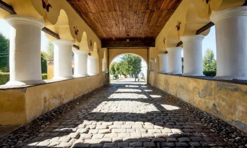 RUMUNIA / Transylwania / Prejmer / Zbór luterański