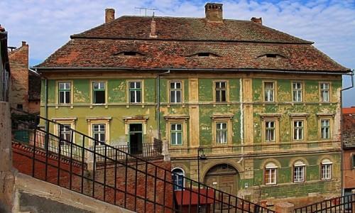 RUMUNIA / Siedmiogród / Sybin / Zielona