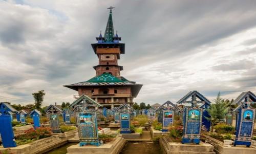 RUMUNIA / Marmarosz / Sapanta / wesoły cmentarz