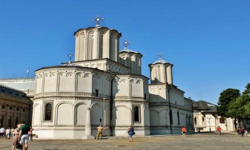Zdjęcie RUMUNIA / Wołoszczyzna / Bukareszt / Katedra Patriarchalna z 1658 roku