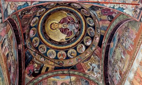 RUMUNIA / Wołoszczyzna / Bukareszt / Katedra Patriarchalna z 1658 roku