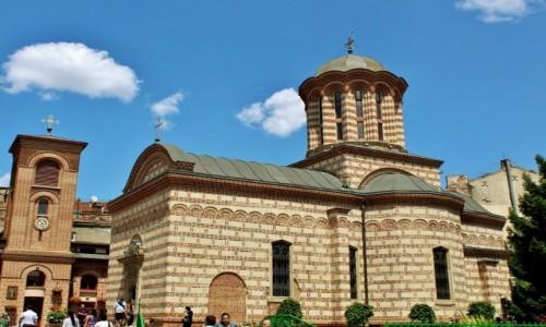 Zdjęcie RUMUNIA / Wołoszczyzna / Bukareszt / Cerkiew św.Antoniego z XVI wieku