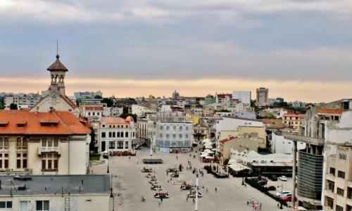 Zdjecie RUMUNIA / Dobrudża / Konstanca / Konstanca-widok na plac Owidiusza