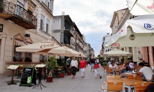 Zdjęcie RUMUNIA / Dobrudża / Konstanca / Taka uliczka w Konstancy...