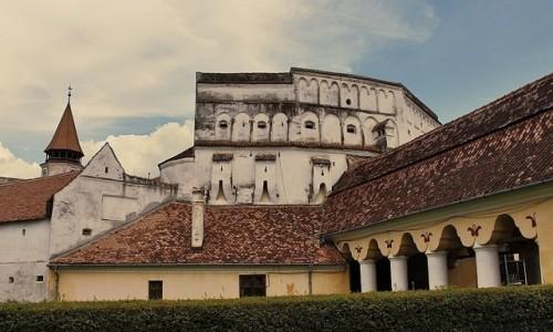 Zdjęcie RUMUNIA / Siedmiogród / Prejmer / Dwa w jednym, czyli kościół warowny