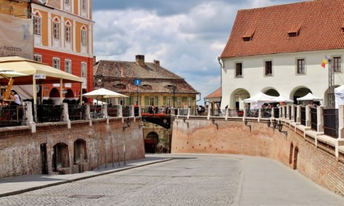 Zdjęcie RUMUNIA / Siedmiogród / Sybin / Stare Miasto