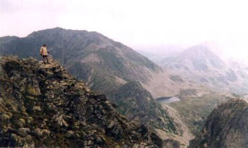 RUMUNIA / Góry Retezat / Judele / Widok z Judele