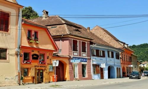 Zdjęcie RUMUNIA / Siedmiogród / Sighișoara / Uliczki Sighișoary