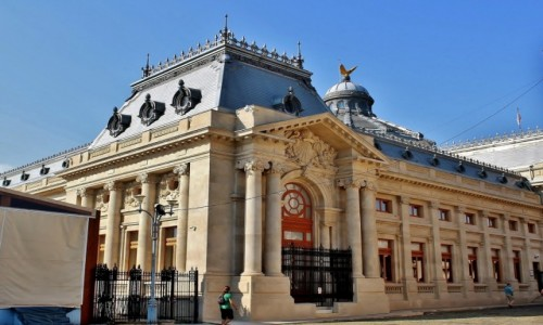 Zdjęcie RUMUNIA / Wołoszczyzna / Bukareszt / Pałac Patriarchalny z 1907 roku