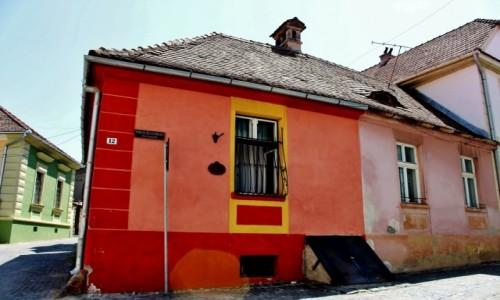 Zdjecie RUMUNIA / Siedmiogród / Sighișoara / Ulica Bastionului