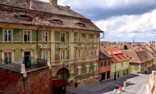 Zdjecie RUMUNIA / Siedmiogród / Sybin / Uliczki Sybinu