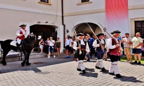 Zdjecie RUMUNIA / Siedmiogród / Alba Iulia / Zmiana warty w twierdzy Alba Carolina