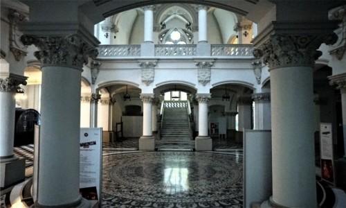 Zdjecie RUMUNIA / Jassy / Pałac Kultury / Hol