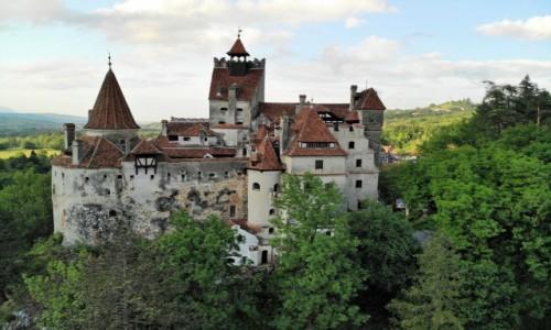 Zdjecie RUMUNIA / Karpaty transylwańskie / Zamek Bran / TRANSYLWANIA-V