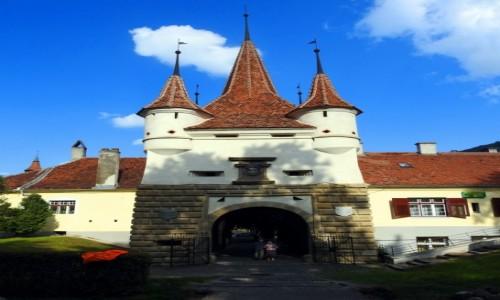 RUMUNIA / Siedmiogród / Braszov / Brama Katarzyny