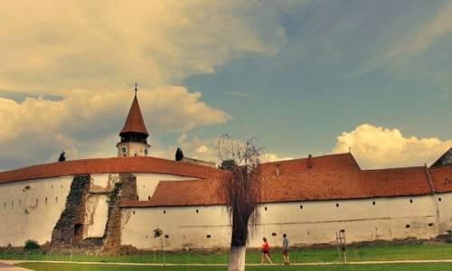 Zdjecie RUMUNIA / Siedmiogród / Prejmer / W Prejmer
