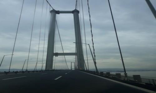 Zdjecie RUMUNIA / Granica Rumuńsko - Bułgarska / Granica Rumuńsko - Bułgarska / Most na granicy