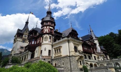 Zdjecie RUMUNIA / Góry Bucegi / Sinaia / Pałac królewski Peles
