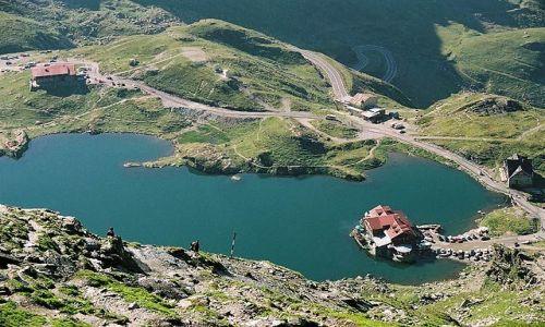 Zdjecie RUMUNIA / Fagaras / Bilea Lac / w górach...