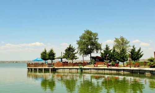 Zdjecie RUMUNIA / Dobrudża / Mamaia / Nad jeziorem Siutghiol